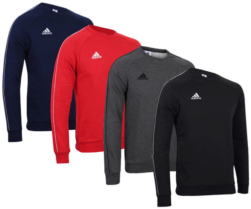 adidas Men's Core Fleece Crew Sweatshirt