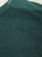 adidas Mens Supernova climalite Long Sleeve Running T-Shirt - AX8468 - Green Logo