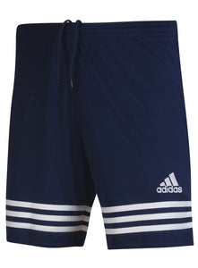 adidas Men's Entrada Navy 7 Inch climalite Polyester Training Shorts