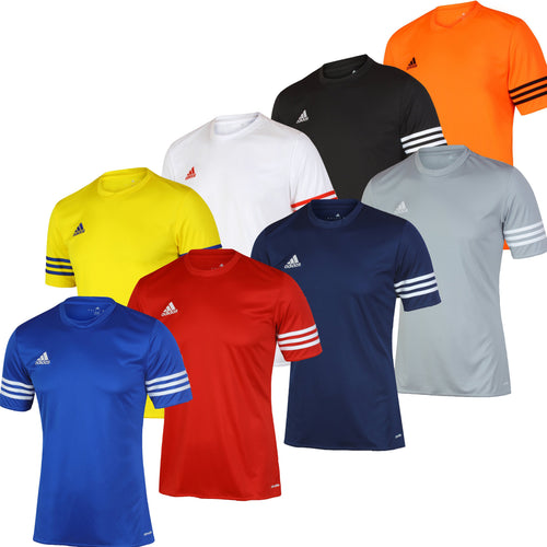 adidas Men's Entrada climalite Crew Polyester Training T-shirt