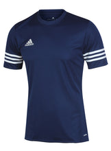 adidas Men's Entrada Navy climalite Crew Polyester Training T-shirt