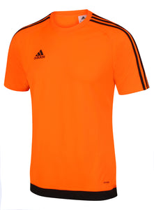 adidas Men's Estro 15 Orange climalite Crew Training T-Shirt