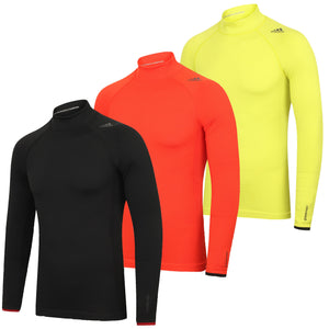 adidas Mens TechFit climaheat Long Sleeve Compression Top