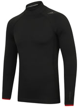 adidas Mens TechFit climaheat Long Sleeve Compression Top - S94386 - Black Front