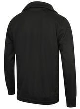 adidas Mens Shadow Tones Black Polyester Half Zip Track Top - CE7104 - Back