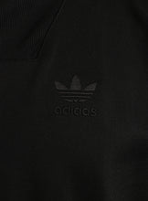 adidas Mens Shadow Tones Black Polyester Half Zip Track Top - CE7104 - Logo