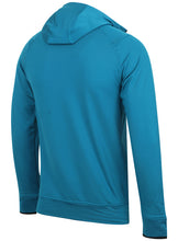 adidas Mens climaheat Half Zip Fleece Training Hoodie - AZ1287 - Blue Back