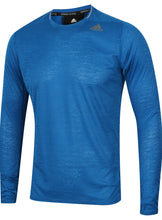 adidas Men's Supernova Blue climalite Long Sleeve Running T-Shirt