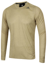 adidas Men's Supernova Golden Brown climalite Long Sleeve Running T-Shirt