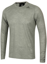 adidas Men's Supernova Grey climalite Long Sleeve Running T-Shirt