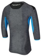 adidas Men's TechFit climachill Three Quarter Sleeve Compression T-Shirt