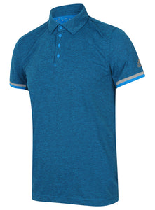 adidas Men's Uncontrol climachill Blue Relaxed Loose Fit Tennis Polo Shirt