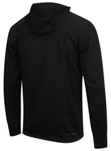 adidas Men's Workout climalite Slim Fit Pullover Hoodie Black BR8534 Rear