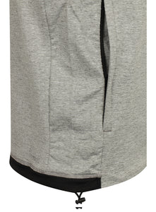 adidas Men's Workout climalite Slim Fit Pullover Hoodie Grey BR8537 Pocket