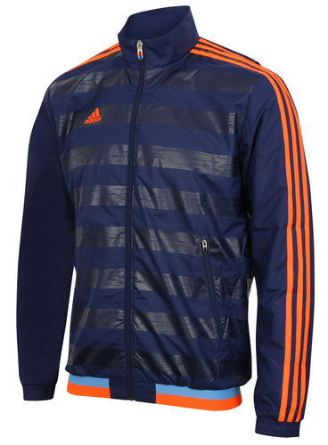 adidas Men's XSE Navy climacool Woven Full Zip Training Jacket