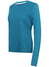 adidas Womens Supernova climalite Long Sleeve Running T-Shirt Blue B43381 Front