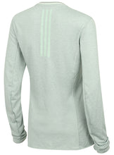 adidas Womens Supernova climalite Long Sleeve Running T-Shirt Green S94415 Rear