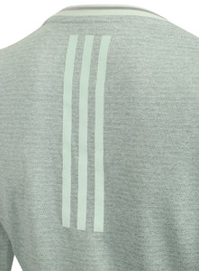 adidas Womens Supernova climalite Long Sleeve Running T-Shirt Green S94415 3 Stripes