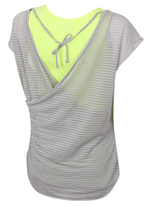 adidas Women's Double Layer climalite Vest and T-Shirt Combined