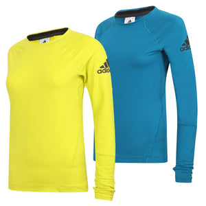 adidas Womens climaheat Long Sleeve Thermal Training Top