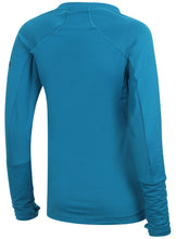 adidas Womens climaheat Long Sleeve Thermal Training Top - S95010 - Blue Back