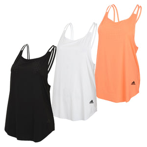 adidas Women's Ladies Seasonal climalite Nylon Vest Tank Top