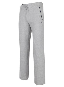 adidas Women's Essentials Grey Open Hem Cotton Blend Jogging Bottoms