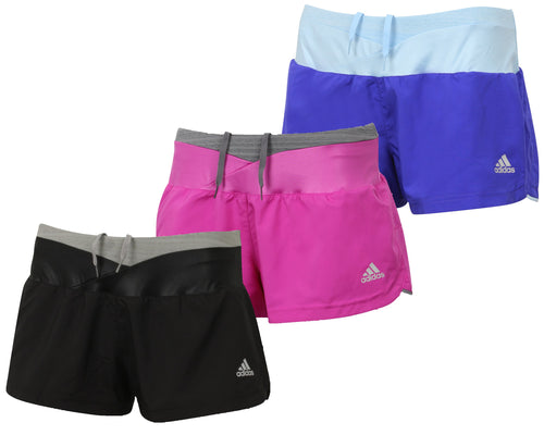 adidas Women's Supernova Glide Reflective Running Shorts with Inner Brief
