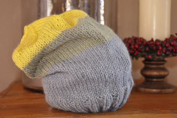 Multi-colored Slouchy Hat