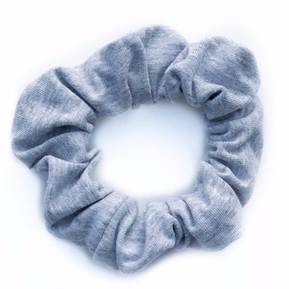Dusk (light grey) Hair Scrunchie