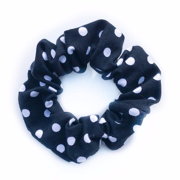 Tiny Sprigs Polka Dot Hair Scrunchies