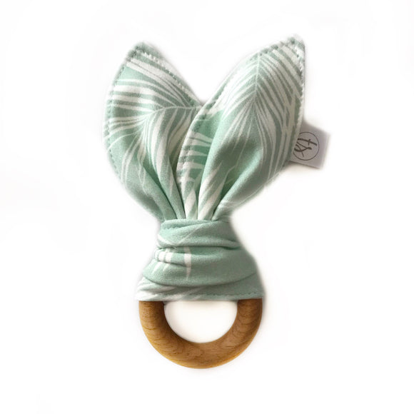 Mint Palms Organic Bunny Ear Teether