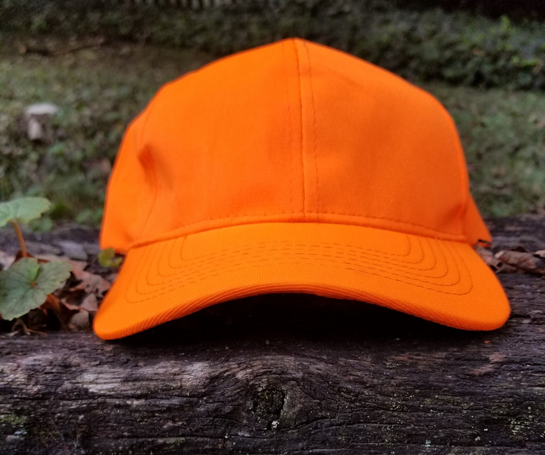 Blaze Orange Safety Cap