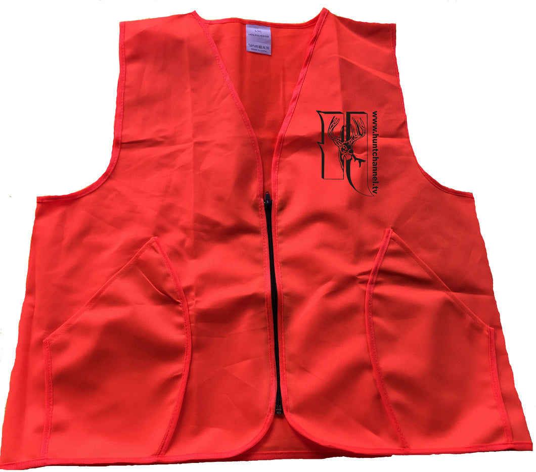 Blaze Orange Safety Vest $4.99