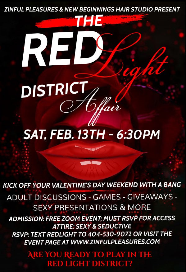 THE RED LIGHT DISTRICT AFFAIR