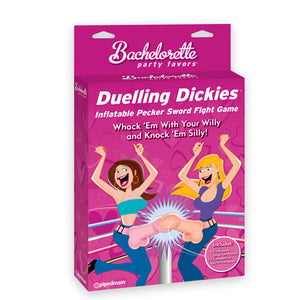 Bachelorette Party Favors Dueling Dickies Inflatable Pecker Sword Fight