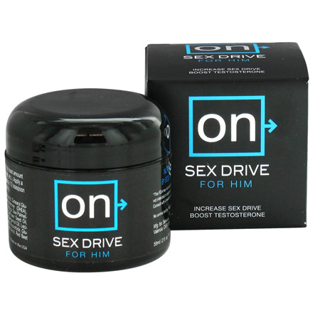 On Sex Drive for Him  (Testosterone)