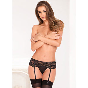 Lace Garter Belt M/L - Zinful Pleasures