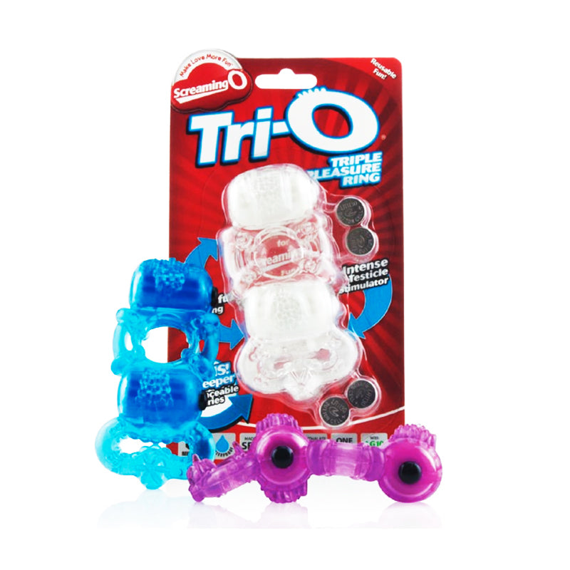 Screaming O TriO Triple Pleasure Ring - Zinful Pleasures