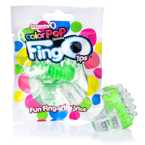 Screaming O ColorPop FingO Tip Green - Zinful Pleasures
