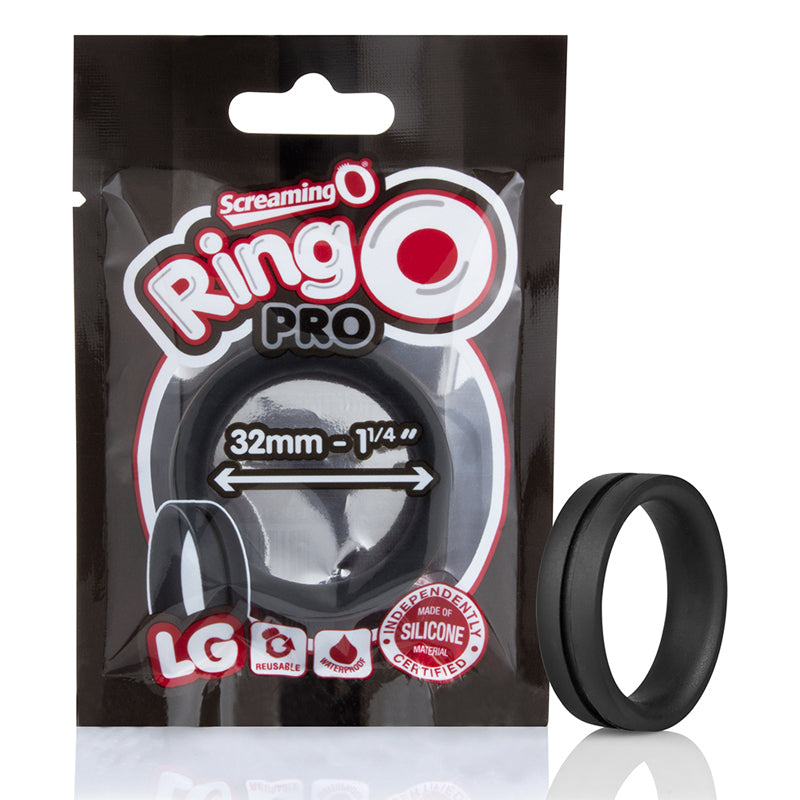 Screaming O RingO Pro Lg Black