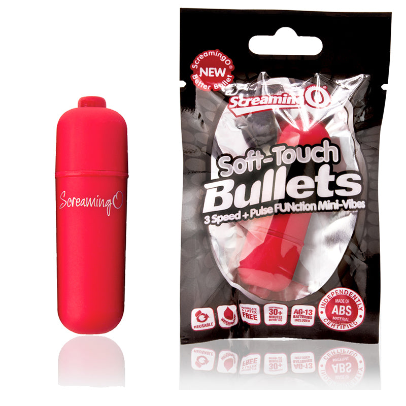 Screaming O Soft Touch Vooom Bullet Red
