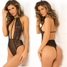 Hot Pursuit Lace Bodysuit Black - Zinful Pleasures