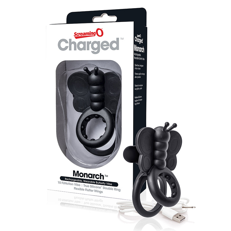 Screaming O Charged Monarch Black