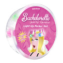 Bachelorette Party Favors Light-Up Pecker Veil - Zinful Pleasures