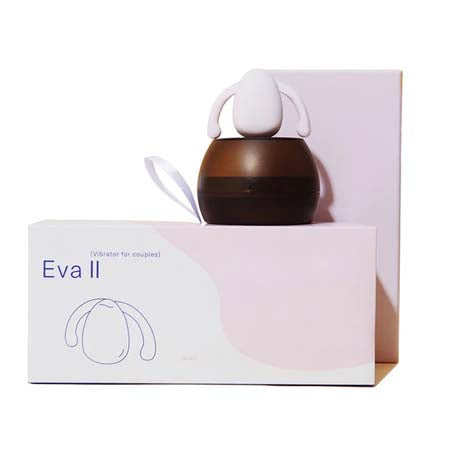 Eva II Multi Speed, Silicone, USB Rechargeable, Waterproof With Charging Case Quartz