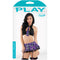 Play Student Body Schoolgirl Pur/Bk S/M - Zinful Pleasures