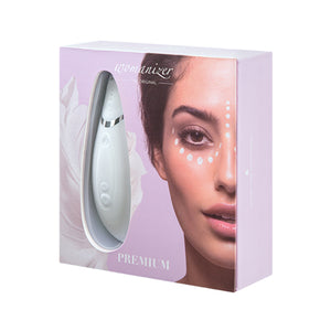 Womanizer Premium White/Chrome - Zinful Pleasures