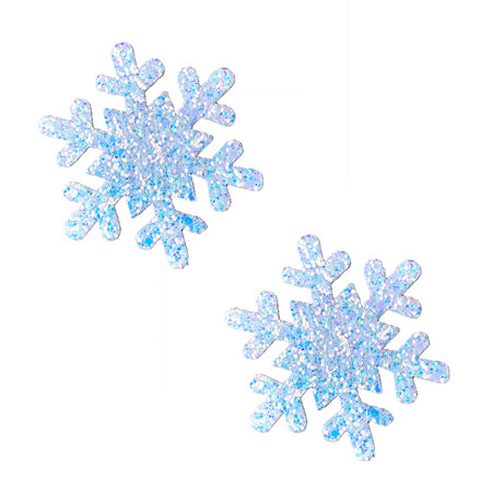 Neva Nude Pasty Snowflake Glitter Frost - Zinful Pleasures