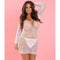 Seductive Lace Dress White - Zinful Pleasures